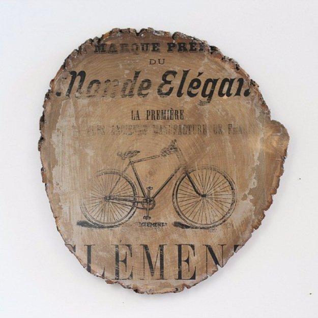 Vintage Bicycle Wall Art & Vintage Bicycle Wall Art - DIY Joy
