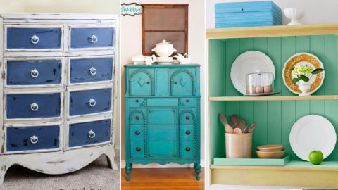 40 Chalk Paint Furniture Ideas | Creative DIY Home Decor | DIY Joy Projects and Crafts Ideas