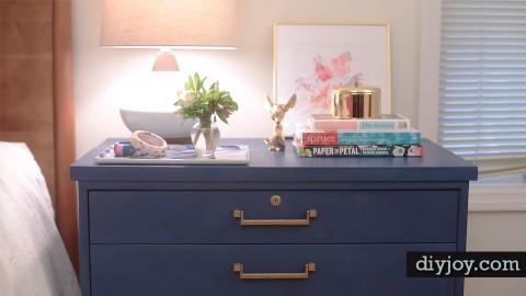 chalk paint furniture ideas Chalk Paint Furniture Ideas? Try this DIY Nightstand chalk paint furniture ideas