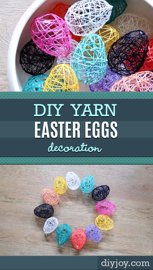 Easter Egg Yarn Pinterest Crafts DIY