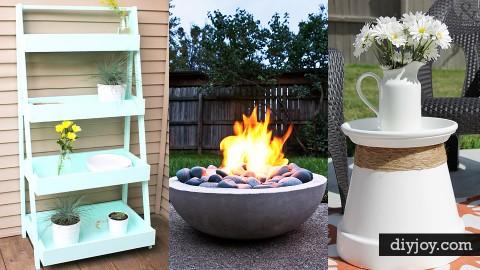 43 DIY Patio and Porch Decor Ideas | DIY Joy Projects and Crafts Ideas