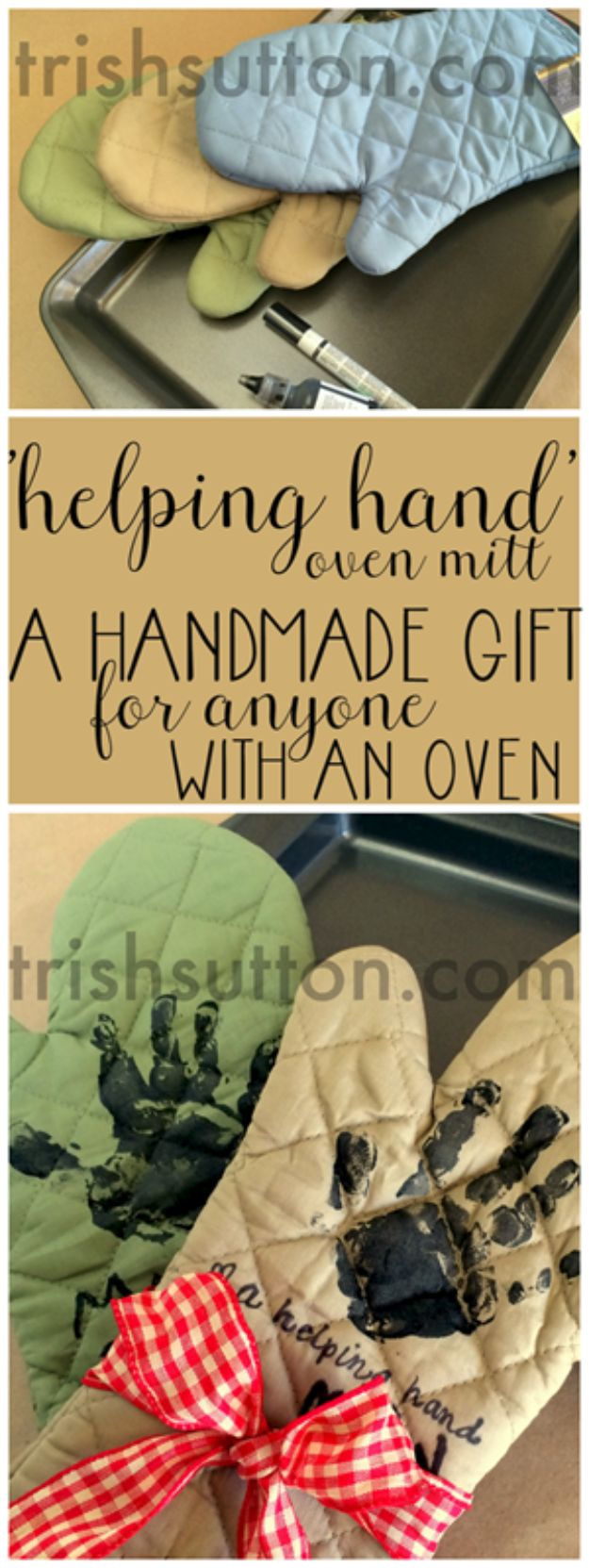 Creative DIY Mothers Day Gifts Ideas - A Helping Hand Mother's Day Gift - Thoughtful Homemade Gifts for Mom. Handmade Ideas from Daughter, Son, Kids, Teens or Baby - Unique, Easy, Cheap Do It Yourself Crafts To Make for Mothers Day, complete with tutorials and instructions #mothersday