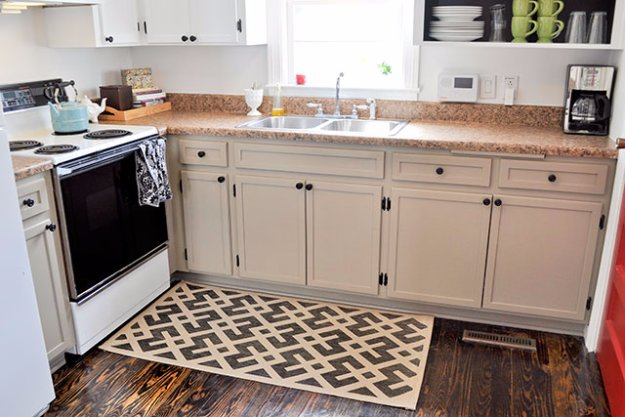 Home Improvement Hacks. - Add Moldings to Cabinets - Remodeling Ideas and DIY Home Improvement Made Easy With the Clever, Easy Renovation Ideas. Kitchen, Bathroom, Garage. Walls, Floors, Baseboards,Tile, Ceilings, Wood and Trim #diy #homeimprovement