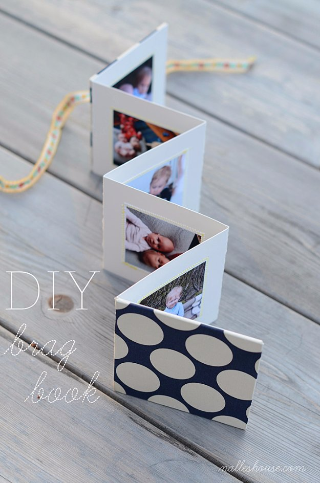 DIY Mothers Day Cards - Adorable Photobook Card - Creative and Thoughtful Homemade Card Ideas for Mom - Step by Step Tutorials, Best Quotes, Handmade Projects