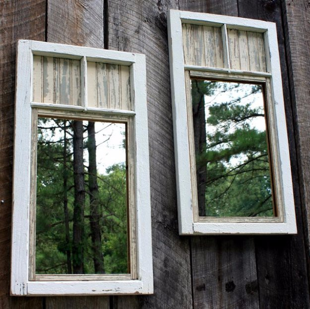 DIY Ideas to Get Your Backyard Ready for Summer - Backyard Mirror Duo - Cool Ideas for the Yard This Summer. Furniture, Games and Fun Outdoor Decor both Adults and Kids Will Enjoy