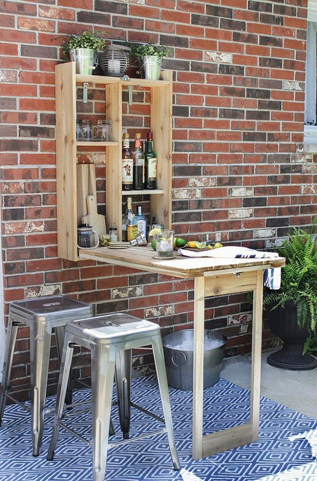 DIY Ideas to Get Your Backyard Ready for Summer - Build A Murphy Bar - Cool Ideas for the Yard This Summer. Furniture, Games and Fun Outdoor Decor both Adults and Kids Will Enjoy