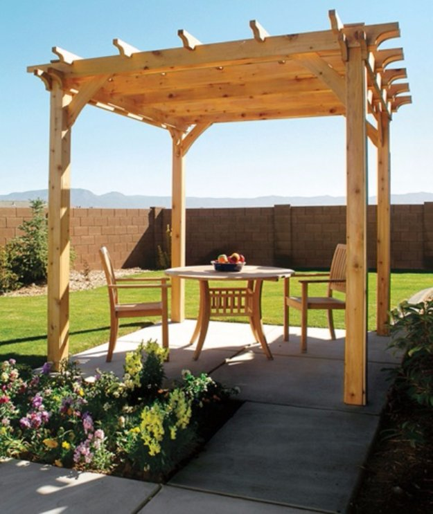 DIY Ideas to Get Your Backyard Ready for Summer - Build a Pergola Right in Your Backyard - Cool Ideas for the Yard This Summer. Furniture, Games and Fun Outdoor Decor both Adults and Kids Will Enjoy