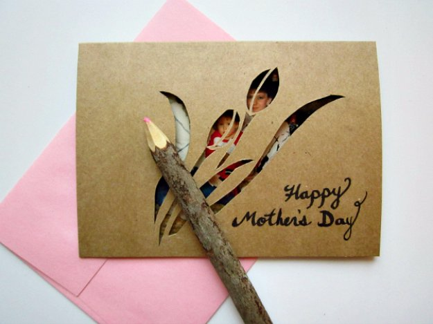 DIY Mothers Day Cards - DIY Mother's Day Cut-out Card - Creative and Thoughtful Homemade Card Ideas for Mom - Step by Step Tutorials, Best Quotes, Handmade Projects