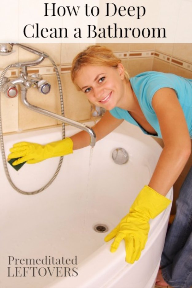Cleaning Tips and Hacks To Keep Your Home Sparkling. Deep Clean Your Bathroom - Clever Ways to Make DYI Cleaning Easy. Bedroom, Bathroom, Kitchen, Garage, Floors, Countertops, Tub and Shower, Til, Laundry and Clothes