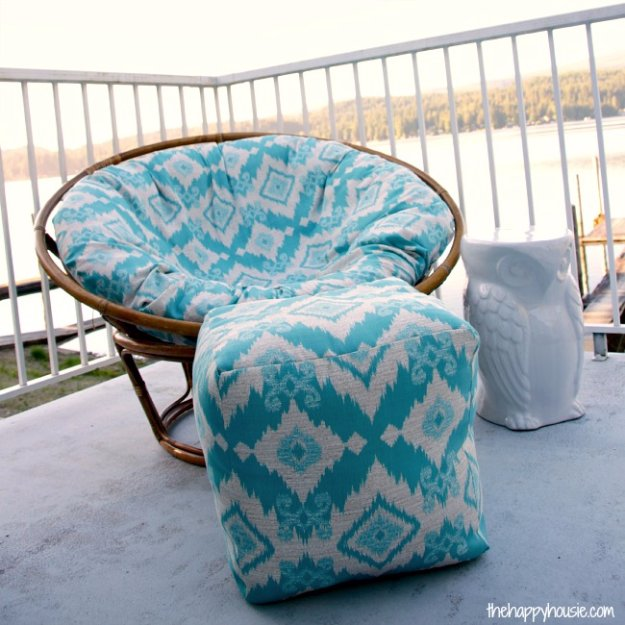 Fabulous DIY Poufs and Ottomans - Indoor Outdoor DIY Pouf Ottoman - Step by Step Tutorials and Easy Patterns for Cool Home Decor. Crochet, No Sew, Leather, Moroccan Boho, Knit and Fun Fur Projects and Chair Ideas http://diyjoy.com/diy-floor-poufs