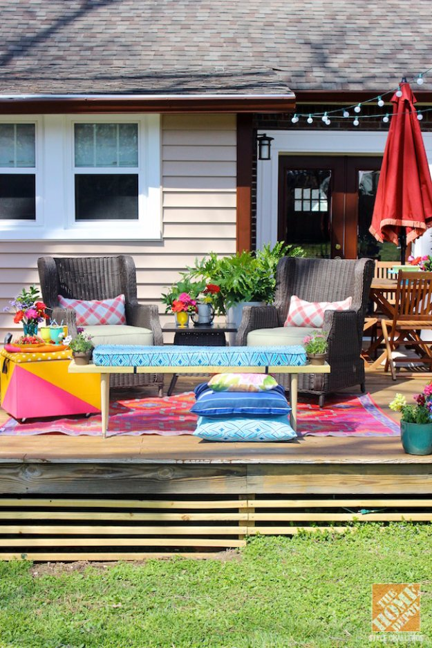 DIY Ideas to Get Your Backyard Ready for Summer - Loud and Laid Back Patio Makeover - Cool Ideas for the Yard This Summer. Furniture, Games and Fun Outdoor Decor both Adults and Kids Will Enjoy
