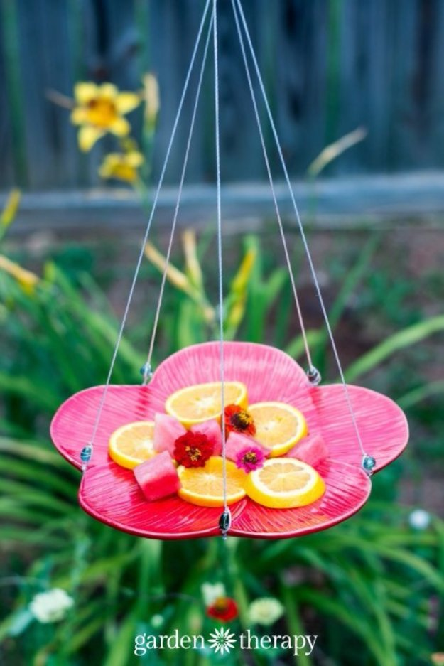 DIY Ideas for Your Garden - Make a Butterfly Feeder - Cool Projects for Spring and Summer Gardening - Planters, Rocks, Markers and Handmade Decor for Outdoor Gardens