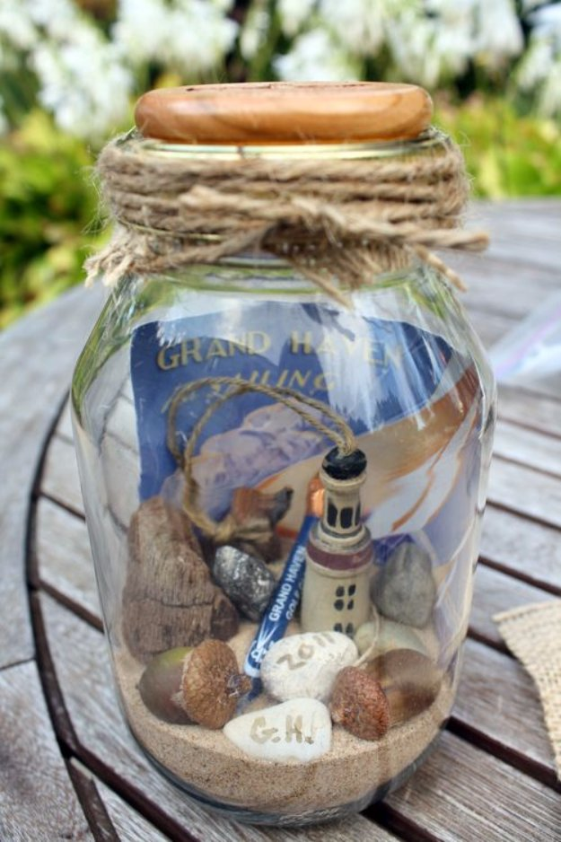 Mason Jar Ideas for Summer - Mason Jar Memories - Mason Jar Crafts, Decor and Gifts, Centerpieces and DIY Projects With Jars That Are Perfect For Summertime - Fun and Easy Lights, Cool Vases, Creative 4th of July Ideas