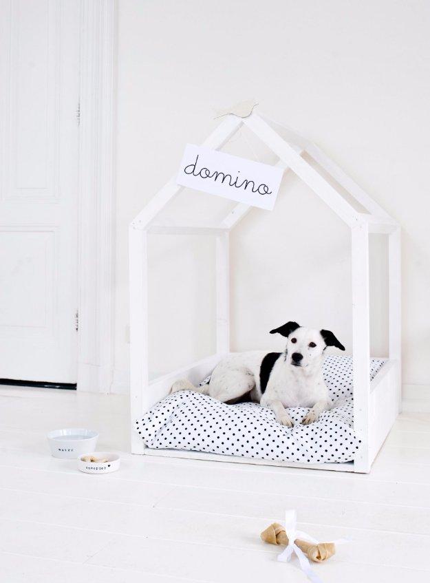 Camas recicladas para mascotas