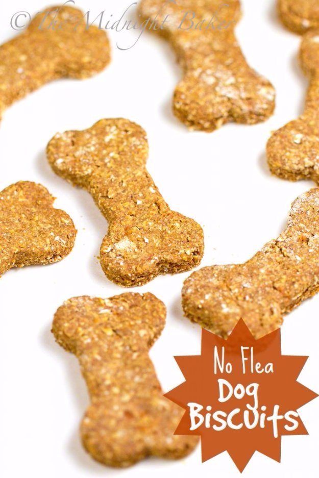 DIY Pet Recipes For Treats and Food - No Flea Dog Biscuits - Dogs, Cats and Puppies Will Love These Homemade Products and Healthy Recipe Ideas - Peanut Butter, Gluten Free, Grain Free - How To Make Home made Dog and Cat Food