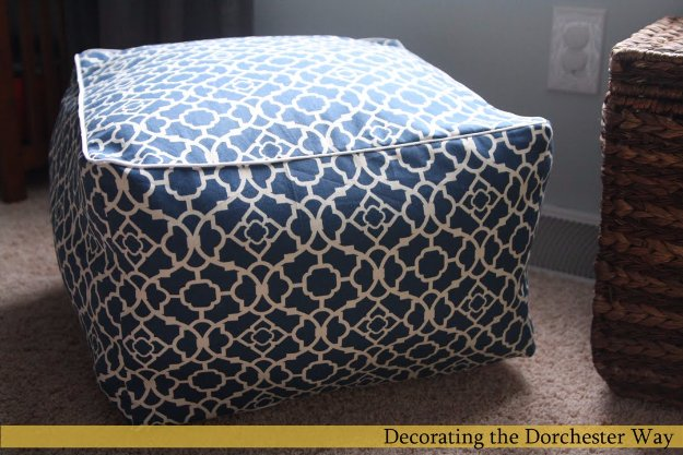 Fabulous DIY Poufs and Ottomans - Square Cube Cushion - Step by Step Tutorials and Easy Patterns for Cool Home Decor. Crochet, No Sew, Leather, Moroccan Boho, Knit and Fun Fur Projects and Chair Ideas #diy #diyfurniture #sewing