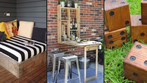 41 Cool DIYs to Get Your Backyard Ready for Summer | DIY Joy Projects and Crafts Ideas