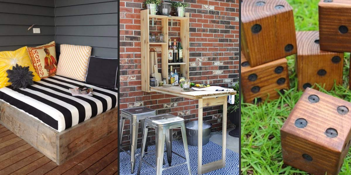 41 Cool DIYs to Get Your Backyard Ready for Summer on Diy Back Patio Ideas id=61535
