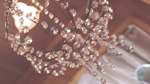 Amazingly Inexpensive Beaded Chandelier That Is Sure To