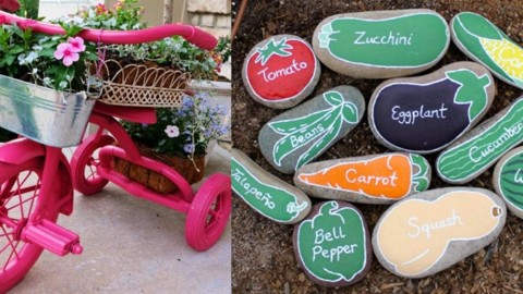 36 DIYs You Need For Your Garden   DIY Joy Projects and Crafts Ideas