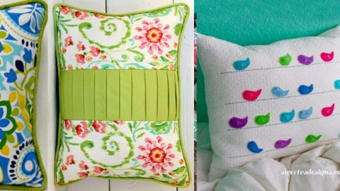 37 DIY Pillows That Will Upgrade Your Decor In Minutes | DIY Joy Projects and Crafts Ideas