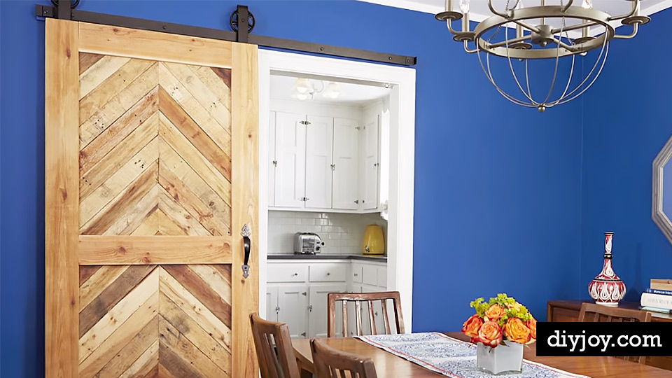 Install Sliding Barn Doors For Rooms With A Tight Lay Out