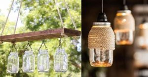 32 DIY Mason Jar Lighting Ideas