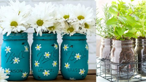 37 Fabulous Mason Jar DIYs You NEED for Summer! | DIY Joy Projects and Crafts Ideas