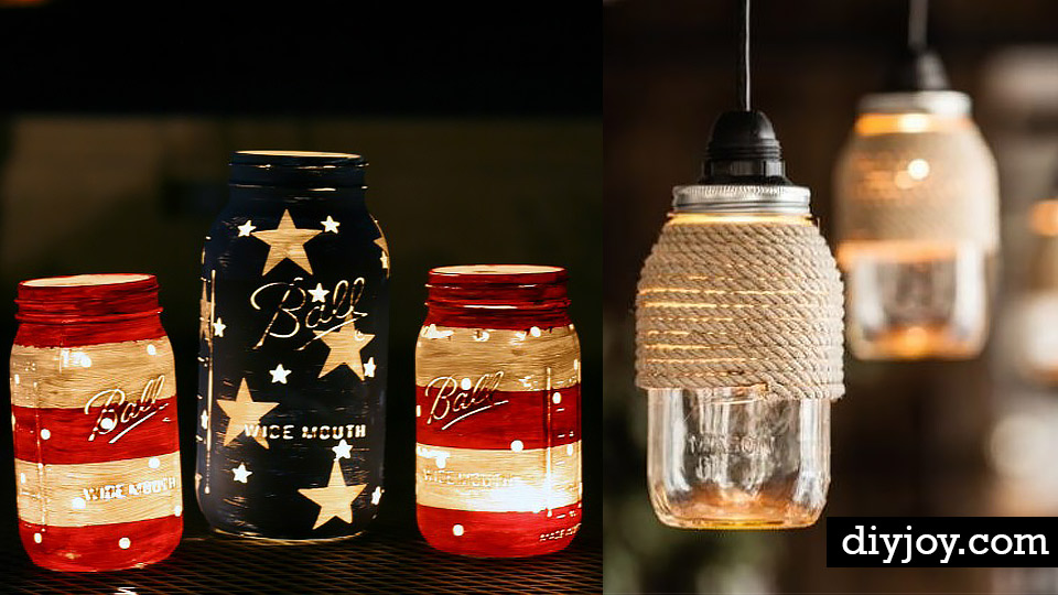 Mason Jar Diy Part - 27: 32 DIY Mason Jar Lighting Ideas