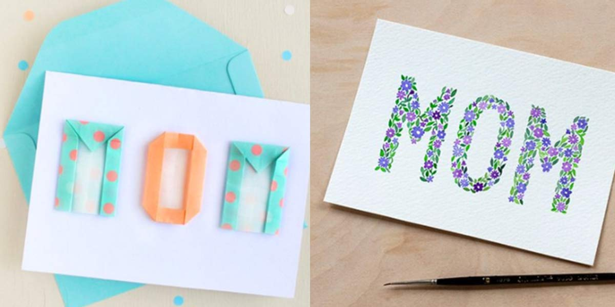 how to make the perfect card for your mom
