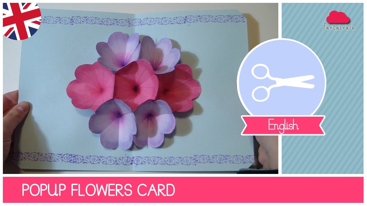 Pop Up Flower Mothers Day Greeting Card Diy Joy