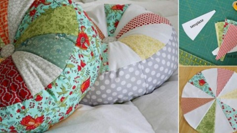 Colorful Sprocket Pillow Sewing Tutorial | DIY Joy Projects and Crafts Ideas