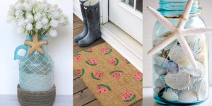 40 Home Decor DIY Projects for Summer