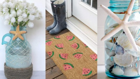 40 Home Decor DIY Projects for Summer | DIY Joy Projects and Crafts Ideas