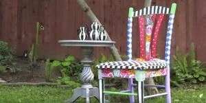 DIY Alice in Wonderland Chair