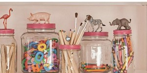 Everyone Will Love These Precious Animal Topped Mason Jar Containers!