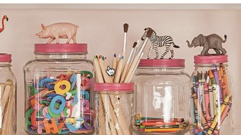 Everyone Will Love These Precious Animal Topped Mason Jar Containers! | DIY Joy Projects and Crafts Ideas