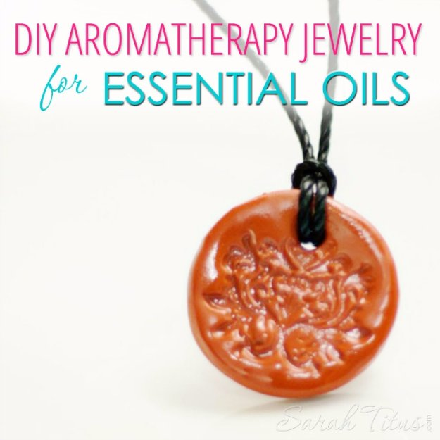 Easy Crafts To Make and Sell - Aromatherapy Jewelry For Essential Oils - Cool Homemade Craft Projects You Can Sell On Etsy, at Craft Fairs, Online and in Stores. Quick and Cheap DIY Ideas that Adults and Even Teens #craftstosell #diyideas #crafts