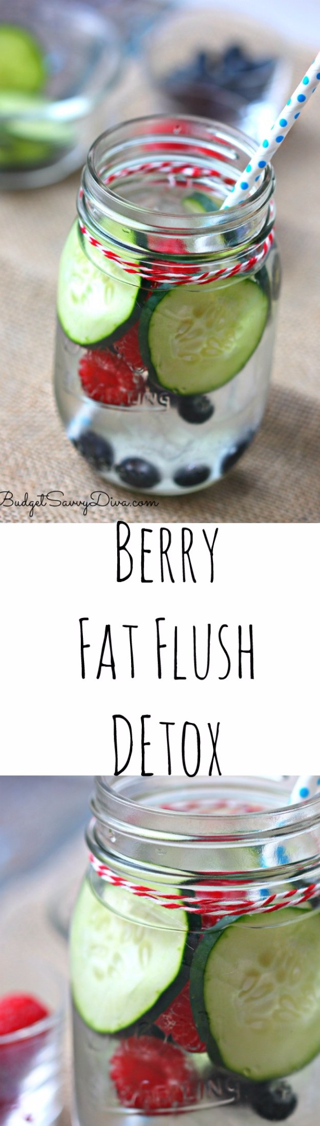 DIY Detox Recipes, Ideas and Tips - Berry Fat Flush Detox Recipe - How to Detox Your Body, Brain and Skin for Health and Weight Loss. Detox Drinks, Waters, Teas, Wraps, Soup, Masks and Skincare Products You Can Make At Home
