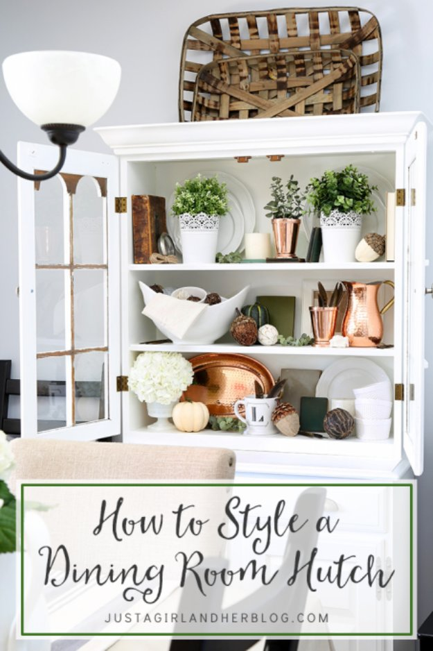 DIY Dining Room Decor Ideas - DIY Dining Room Hutch - Cool DIY Projects for Table, Chairs, Decorations, Wall Art, Bench Plans, Storage, Buffet, Hutch and Lighting Tutorials