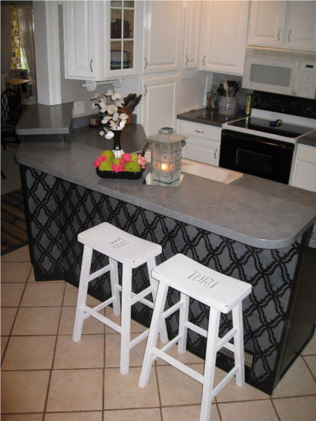 DIY Dining Room Decor Ideas - DIY Distressed Bar Stools - Cool DIY Projects for Table, Chairs, Decorations, Wall Art, Bench Plans, Storage, Buffet, Hutch and Lighting Tutorials