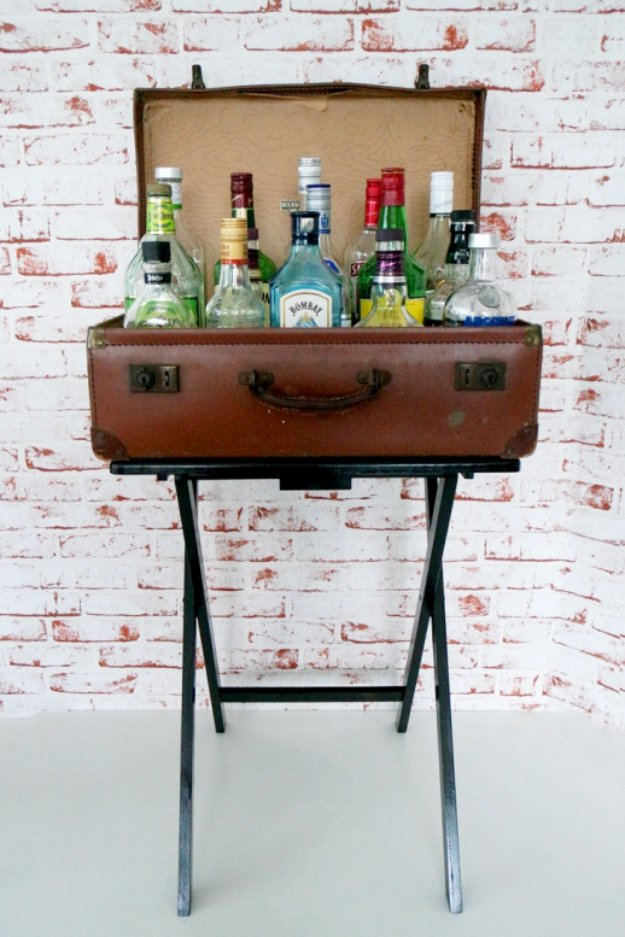 Diy kitchen decor ideas diy faux bar table creative furniture projects accessories