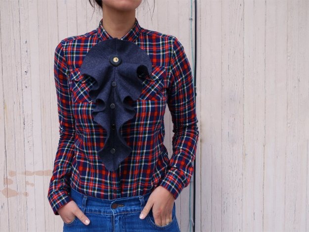 DIY Sewing Projects for Women - DIY Fendi Frill - How to Sew Dresses, Blouses, Pants, Tops and Fashion. Step by Step Tutorials and Instructions #sewing #fashion