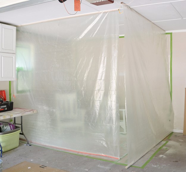 DIY Projects Your Garage Needs -DIY Garage Paint Booth - Do It Yourself Garage Makeover Ideas Include Storage, Organization, Shelves, and Project Plans for Cool New Garage Decor #diy #garage #homeimprovement