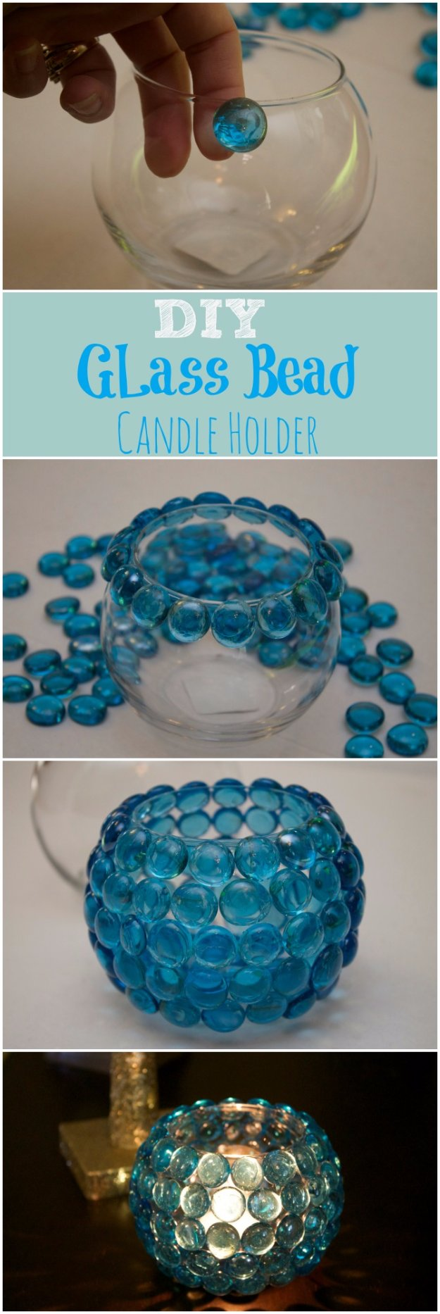 Easy Crafts To Make and Sell - DIY Glass Bead Vase - Cool Homemade Craft Projects You Can Sell On Etsy, at Craft Fairs, Online and in Stores. Quick and Cheap DIY Ideas that Adults and Even Teens #craftstosell #diyideas #crafts