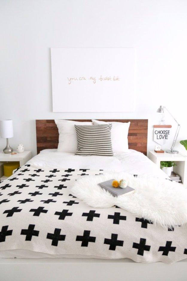 31 fabulous diy headboard ideas for your bedroom solutioingenieria Choice Image