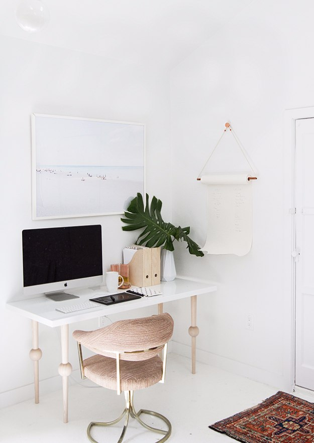 DIY Home Office Decor Ideas - DIY To Do List With Copper Rod - Do It Yourself Desks, Tables, Wall Art, Chairs, Rugs, Seating and Desk Accessories for Your Home Office #office #diydecor #diy