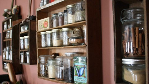 Repurposing Old Dresser Drawers Into Beautiful & Useful Shelves | DIY Joy Projects and Crafts Ideas
