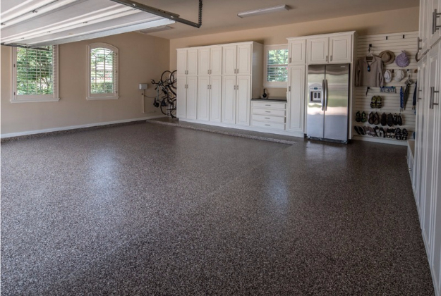DIY Projects Your Garage Needs -Epoxy Floor Coating For Your Garage - Do It Yourself Garage Makeover Ideas Include Storage, Organization, Shelves, and Project Plans for Cool New Garage Decor #diy #garage #homeimprovement