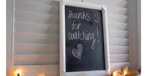 Homemade Chalkboard…Simple Craft Project!